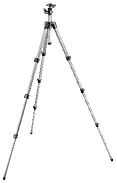 394 Aluminum 4 Section Tripod with QR Ball Head