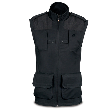 LINO - GILET PHOTO Homme L - Noir