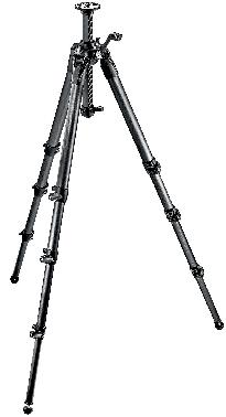 057 Carbon Fiber Tripod 4 Sections Geared