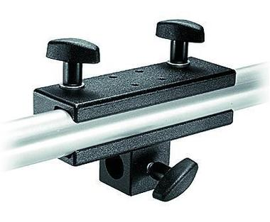 Panel Clamp w/5/8'' Socket, Attaches to Round or Square Tubes