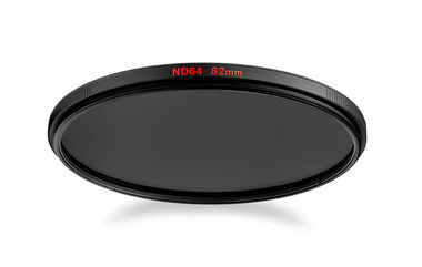 Circular ND64 lens filter with 6 stop of light loss 77mm