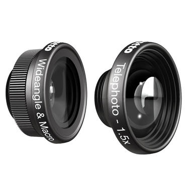 Wideangle&Macro and Telephoto 1.5x lenses