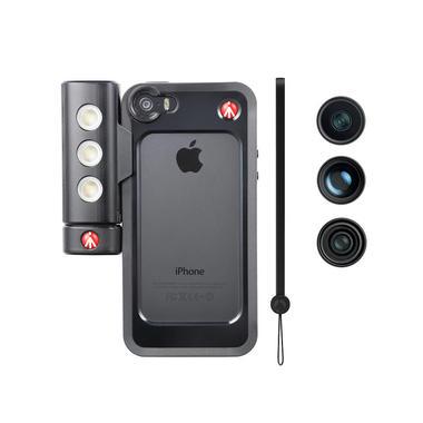 Black Bumper+3 lenses+SMT LED with tripod mount