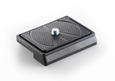 Technopolymer & fiber glass rectangular plate - 1/4'' screw
