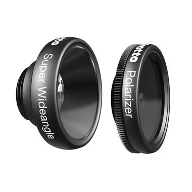 Super Wideangle and Polarizer lenses
