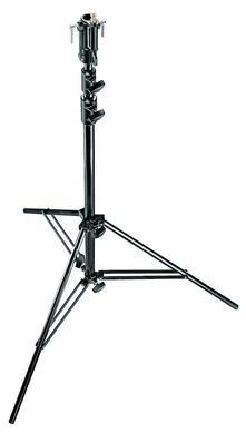 10.6' Black Chrome Plated Steel Senior Stand w/ Leveling Leg