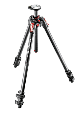 190 Carbon Tripod 3 sections with horizontal column