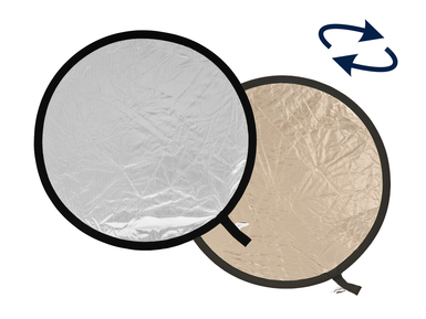 48'' Collapsible Reflector - Sunlite/Softsilver