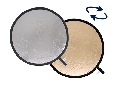 48'' Collapsible Reflector - Sunfire/Silver