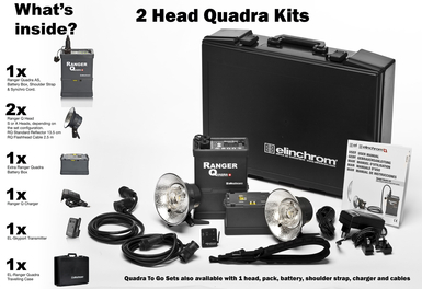 Ranger Quadra 2 x S Head Kit