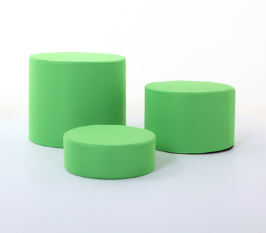 Chromakey Green Low Level Posing Tubs Covers (set of three)