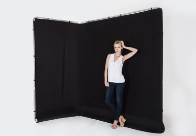 Panoramic Background Cover 13' (4M) Black
