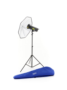 Lumen8 Single Head Kit F400 + Stand & Umbrella EU
