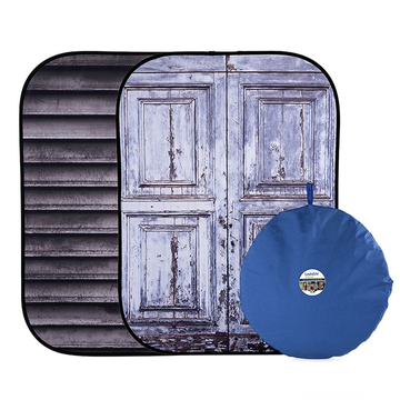 Urban Collapsible 1.5x2.1m Shutter/Distressed Door