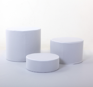 White Covers For the Low Level Posing Tubs (set of three)