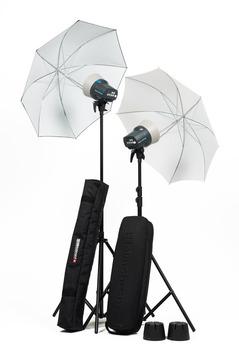D-Lite RX ONE - 2x Head Umbrella To Go Kit