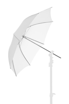 28'' Fiberglass Umbrella - White Translucent