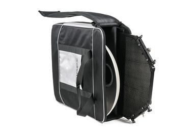 SOFTLITE 44cm WHITE/ GRID SET w/ PROTEC BAG