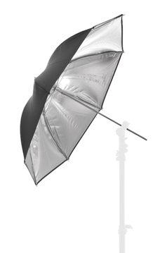 Umbrella Bounce 72cm Silver