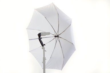 Brolly Grip With 35'' TriFold Umbrella For Speed Lites