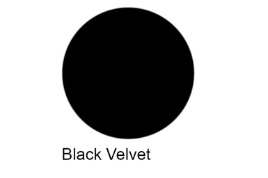 Skylite Black Velvet Fabric Medium