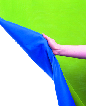 Chromakey Curtain Reversible 3 x 3.5m Blue/Green