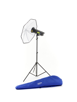 Lumen8 Single Head Kit F400 + Stand & Umbrella UK