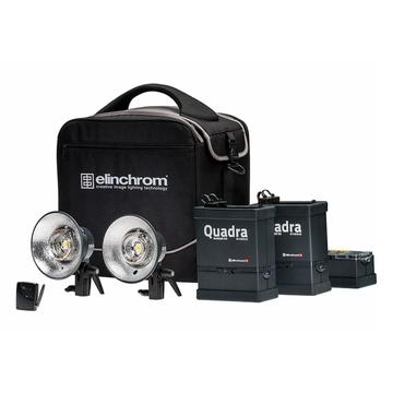 Quadra Hybrid Li-ion Twin Set S To-Go Sets w/Poly Bag