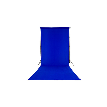 Chromakey Curtain 3 x 7m Blue