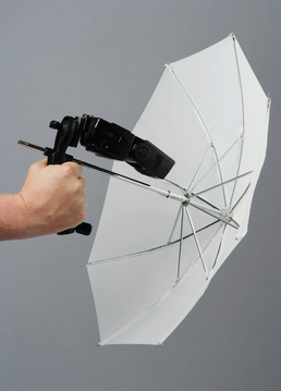 Brolly Grip with 20'' Translucent Umbrella - New