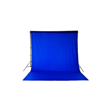 Chromakey Curtain 3 x 3.5m Blue