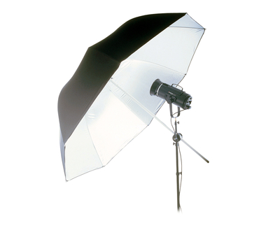 71'' Jumbo White Bounce Umbrella