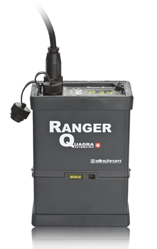 Ranger Quadra w/Battery, sync, charger and carry strap