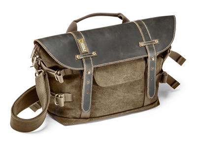 Midi Satchel for DSLR with additional lenses and accessories