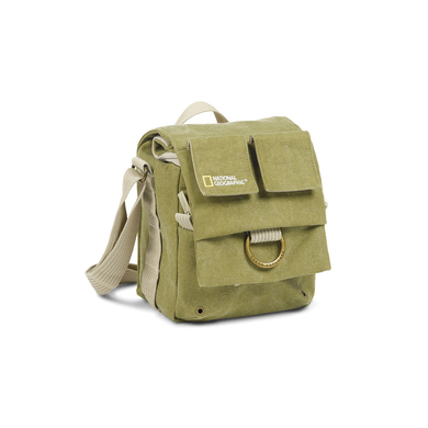 Shoulder bag for compact DSLR/advanced point-and-shoot cam.