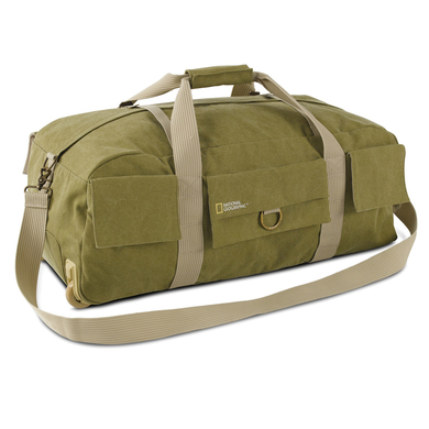 Duffel with wheels and DSLR Insert