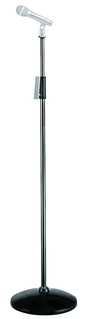Black Aluminum Microphone Stand