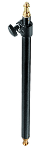 Adjustable Blk. Pole f/Black Light Stand, Variable 21''-33''