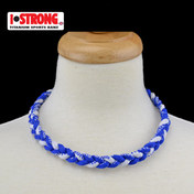 iStrong Necklace Blue/White