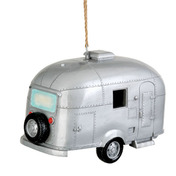 Birdhouse Birdie In The Woods Silver Camper