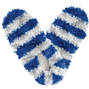 Fuzzy Footies Fanwear Blue/White