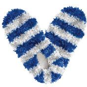 Fuzzy Footies Fanwear Blue/White