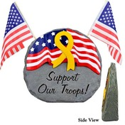 Stone Support our Troops