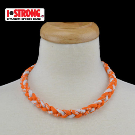 iStrong Necklace Orange/White picture