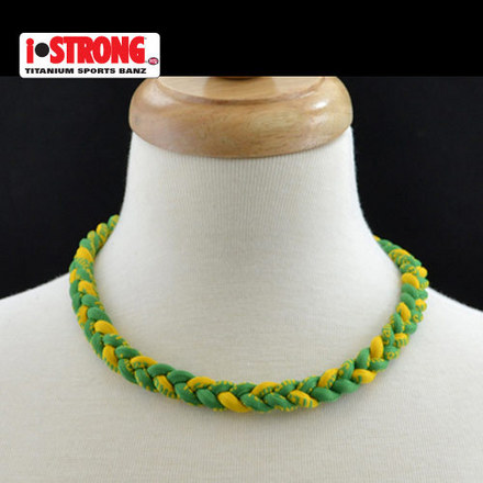 iStrong Necklace Green/Gold picture