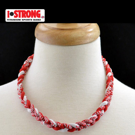 iStrong Necklace Red/White picture