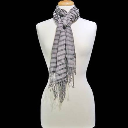 Scarf 2-Tone Gray picture