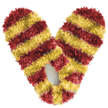Fuzzy Footies Fanwear Maroon/Gold picture