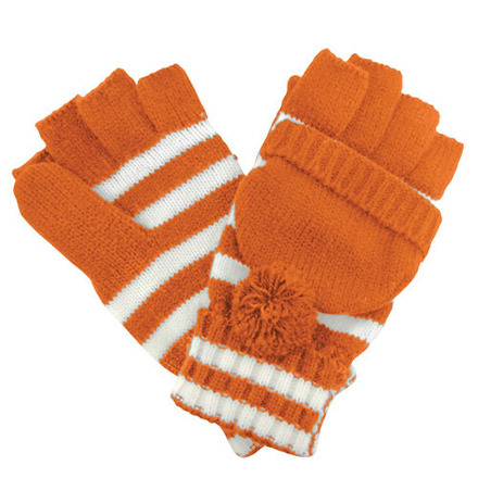 Glove Fanwear Burnt Orange/White picture
