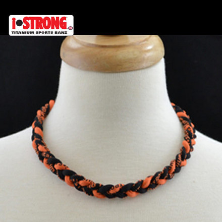 iStrong Necklace Black/Orange picture